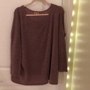 Purple Piko sweater